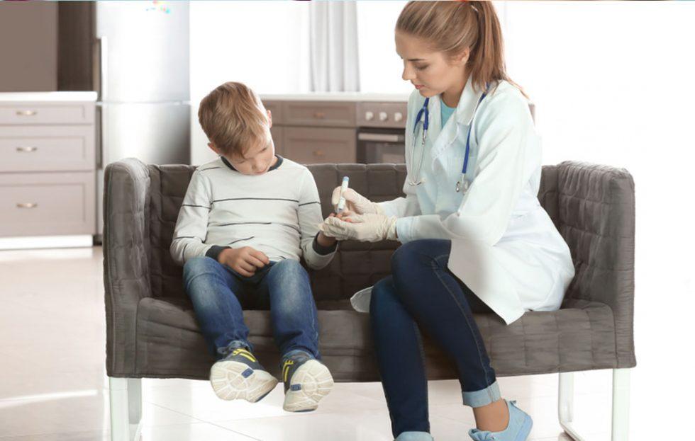 مرض السكري عند الاطفال